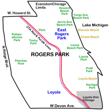 map-rogers-park