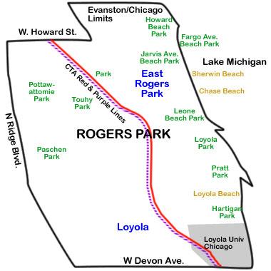map-rogers-park