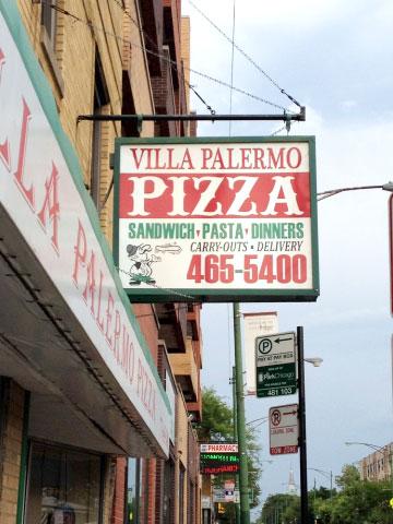 Villa Palermo Pizza
